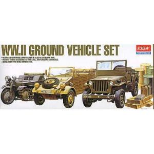 WWII vehicle set