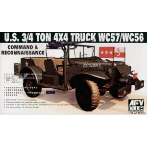 US 3/4 ton 4 x 4 truck WC57/WC56
