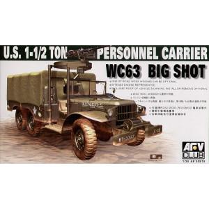 1-1/2 ton personnel carrier WC63