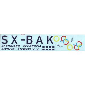 DC-3 Dacota - Olympic Airways SX-BAK