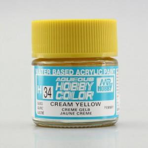 H 034 Cream yellow