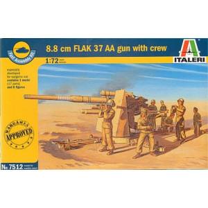 88mm Flak 37 AA Gun (WWII)