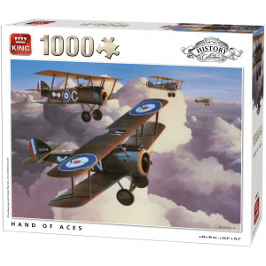 Hand of Aces Puzzle 1000 pc