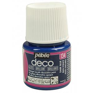 DECO GLOSS 45ML DARK BLUE