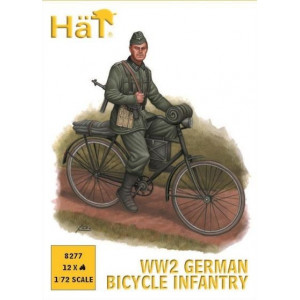 WWII German Bicycle Infantry