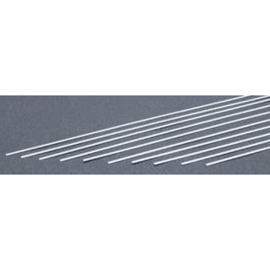 ",020 X ,250"" (0,5 x 6,3) 10 strips Evergreen strip styrene"