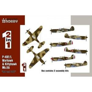 P-40 Warhawk and Kittyhawk 2 in 1