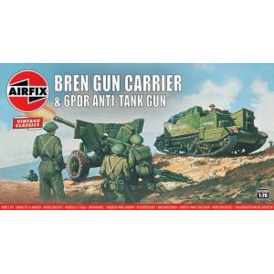Bren Gun Carrier and 6 pdr Anti-Tank Gun 'Vintage Classic serie