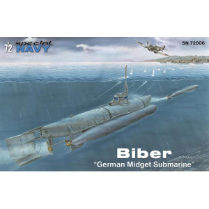 "Biber ""German Midget Submarine"