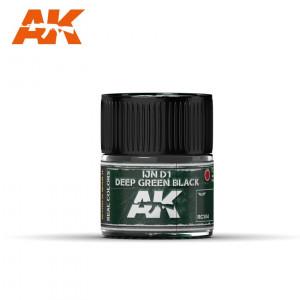 IJN D1 Japanese Deep Green Black RC304