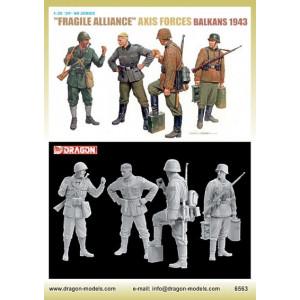 'Fragile Alliance' Axis Forces, Balkans 1943