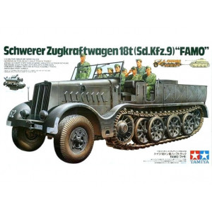 Schwerer Zugkraftwagen 18t (Sd.Kfz.9) Famo