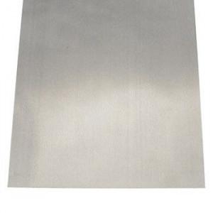 """Tin Coated Steel Sheet .008"""" x 4"""" x 10"""""""