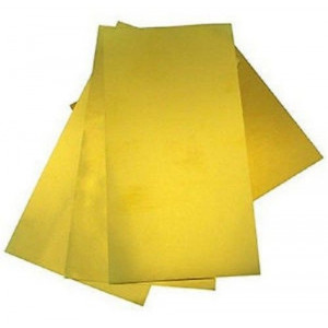 Assorted Brass Sheet Metal 4pc