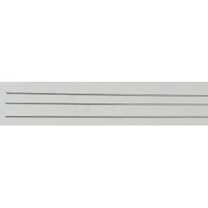 0.4mm x 0.2mm Aluminium Tube (3 Pieces)