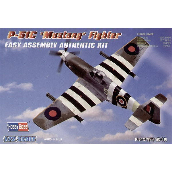 P-51C Mustang Easy Build