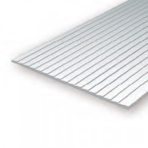 """Clapboard 080"""" Spacing (2.0mm) 040"""" Thick (1.0mm)"""