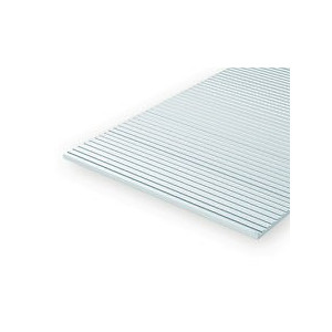 """Car Siding N Scale 3-1/4"""" Spacing  .020"""" Thick(0.5mm)"""