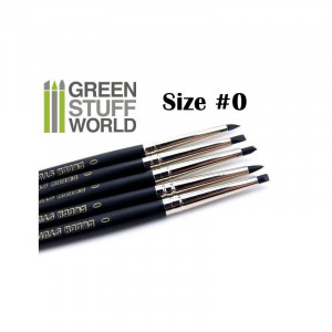 Colour Shapers Brushes SIZE 0 - BLACK FIRM