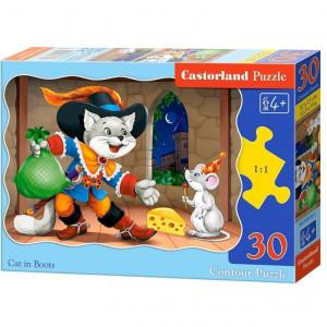 Cat In Boots puzzle 30pcs