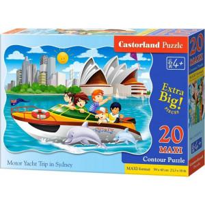 Motor Yacht trip in Sydney puzzle 20pcs