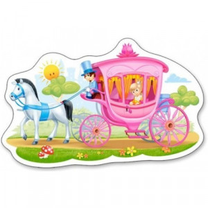 Princess in a Carriage 15pcs