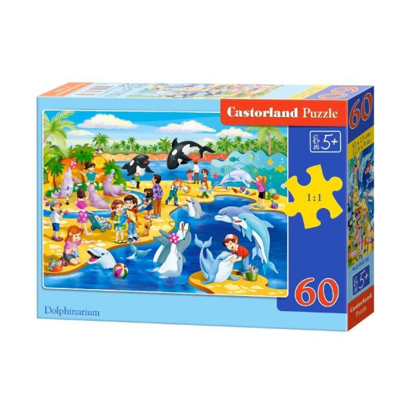 Dolphinarium Puzzle 60pcs