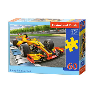 Racing Bolide on Track Puzzle 60 pieces