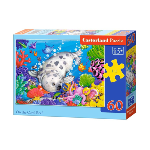 On the Coral Reef puzzle 60pcs