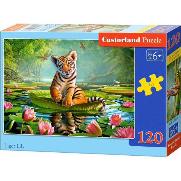 Tiger Lily 120pcs Puzzle