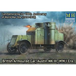 British Armoured Car, Austin, Mk.III, WW I Era