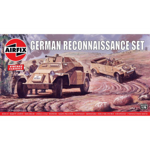 Sdkfz222 German Reconnaisance Set 1/76