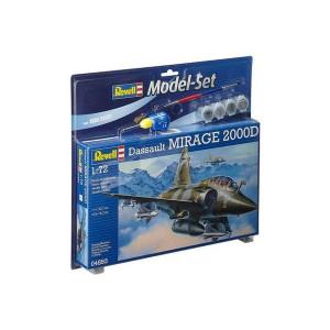 Model Set Mirage 2000D 1/72