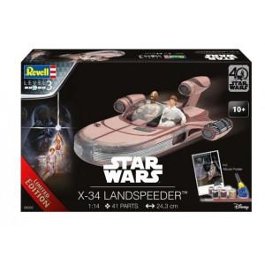 X-34 Landspeeder Gift Set 1/14