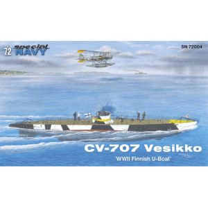 CV 707 Vesikko 'WWII Finnish U-Boat' 1/72