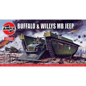 Buffalo Willys MB Jeep 1/76