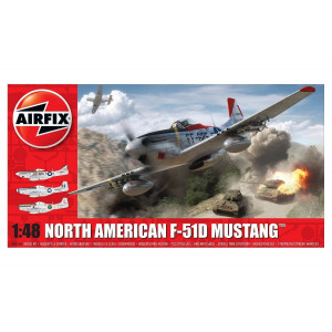 North American F51D Mustang 1/48
