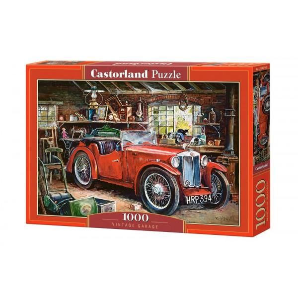 Vintage Garage Puzzle 1000pcs
