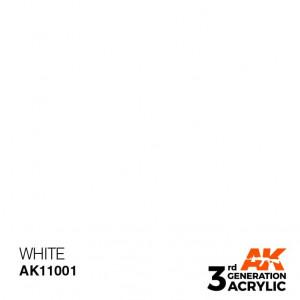 AK11001 WHITE – INTENSE