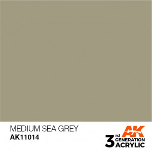 AK11014 MEDIUM SEA GREY – STANDARD