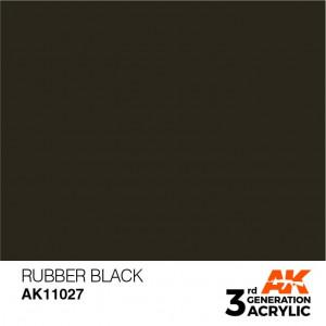 AK11027 RUBBER BLACK – STANDARD