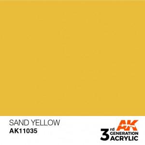 AK11035 SAND YELLOW – STANDARD