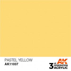 AK11037 PASTEL YELLOW – PASTEL