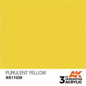 AK11039 PURULENT YELLOW – STANDARD