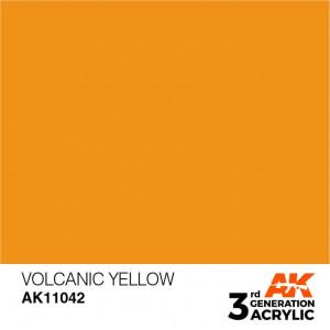 AK11042 VOLCANIC YELLOW – STANDARD