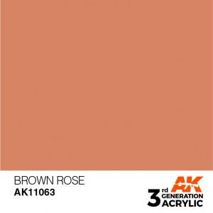 AK11063 BROWN ROSE – STANDARD