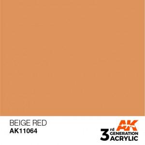 AK11064 BEIGE RED – STANDARD