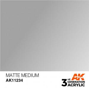 AK11234 MATTE MEDIUM – AUXILIARY