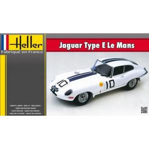 Jaguar E Type Le Mans 1/24