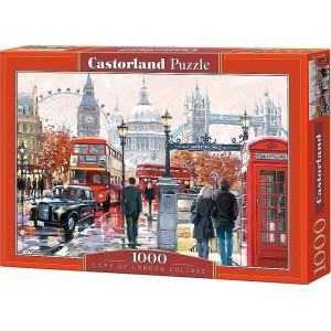 London Collage Puzzle 1000pcs